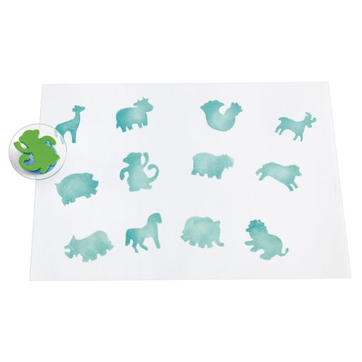 Image of Colorations Zoo Animal Stampers Set of 12