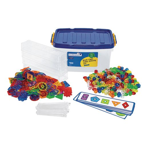 Image of Excellerations STEM Math Light Table Activity Set
