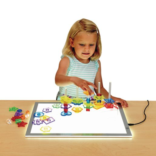Excellerations® STEM Math Light Table Activity Set