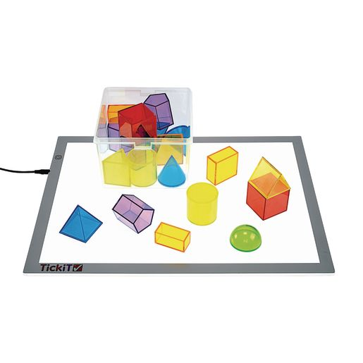 Excellerations® STEM Translucent Geometric Shapes with Activity Cards_4