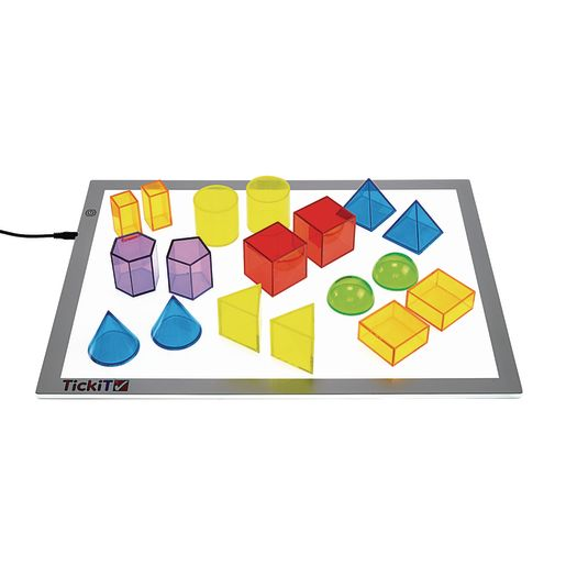 Excellerations® STEM Translucent Geometric Shapes with Activity Cards_5