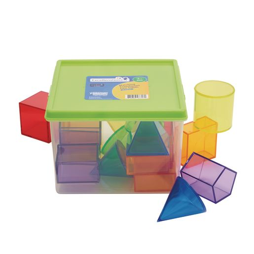 Excellerations® STEM Translucent Geometric Shapes with Activity Cards_6