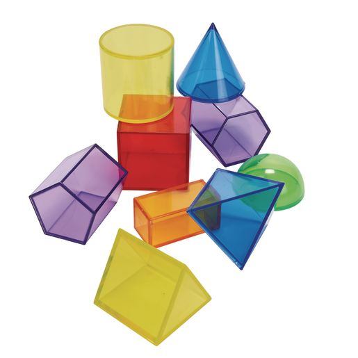 Excellerations® STEM Translucent Geometric Shapes with Activity Cards_7