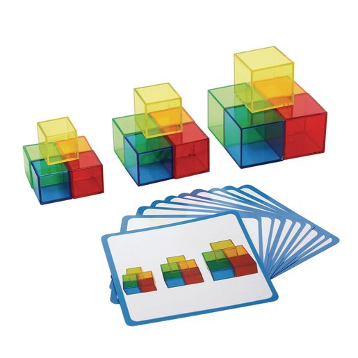 Image of Excellerations STEM Translucent Cubes with Activity Cards