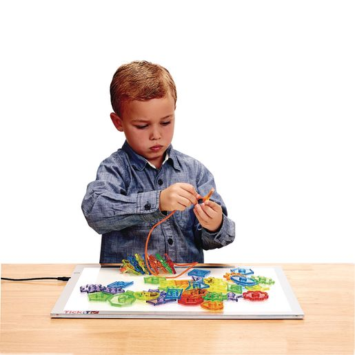 Excellerations® Translucent Lacing Shapes 78 Pieces