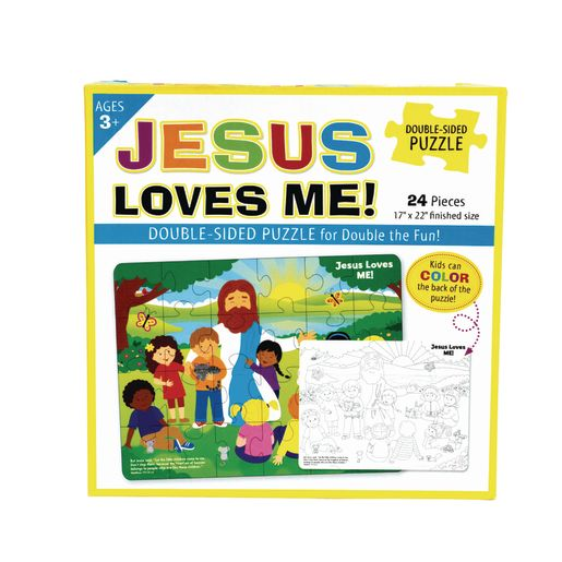 Jesus Loves Me Puzzle