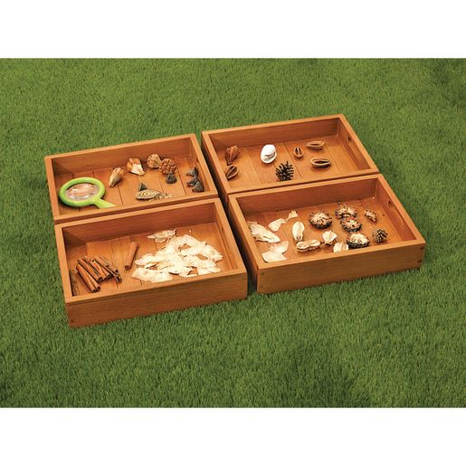Excellerations® Outdoor Sorting Trays Set of 4