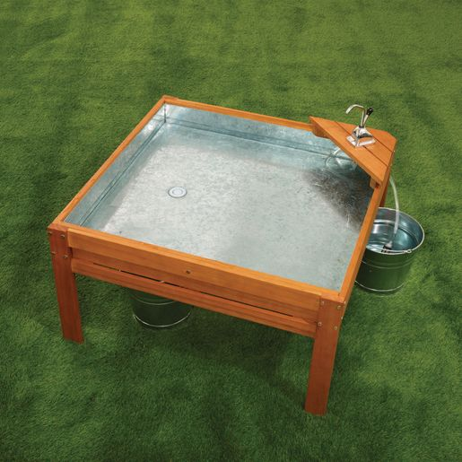 Image of Excellerations Outdoor Panning Table with Pump