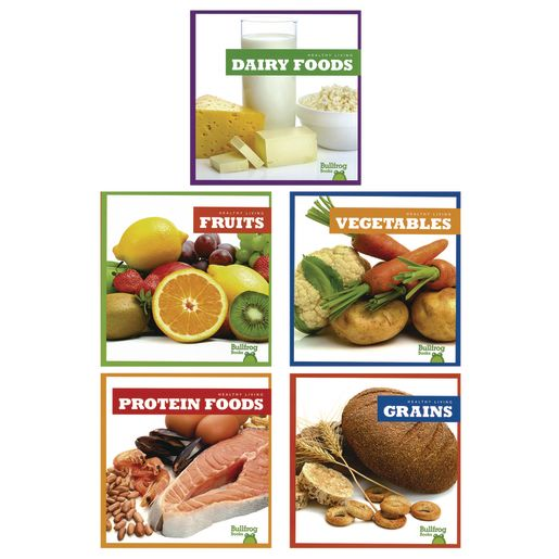 Image of The Five Food Groups Book Set of 5