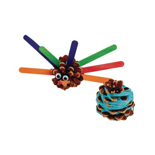 Medium Craft Pinecones 12 Pcs.