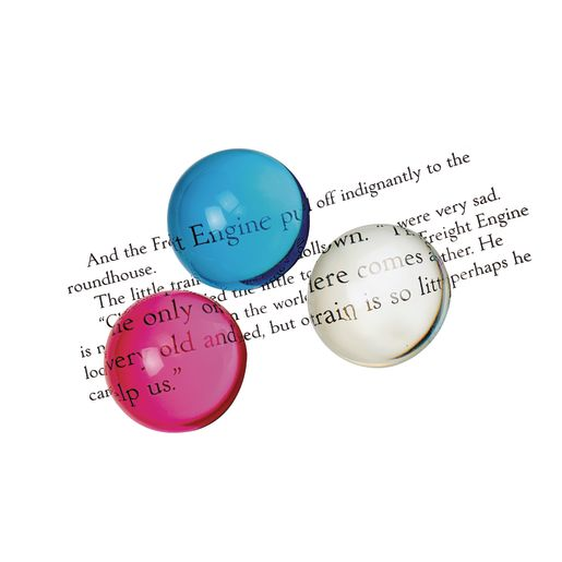 Magnifying Semispheres 8 Color Set