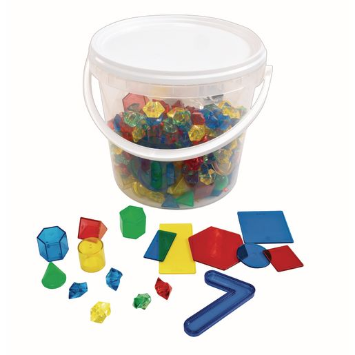 Image of Light Table Math Bucket 280 Pieces