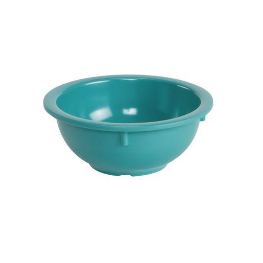 Melamine 14 oz. Turquoise Rim Bowls Set of 4
