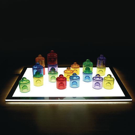 Image of Environments earlySTEM Translucent Stacking Pegs