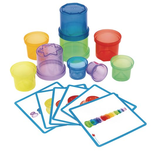 Image of Environments earlySTEM Stacking Translucent Cups