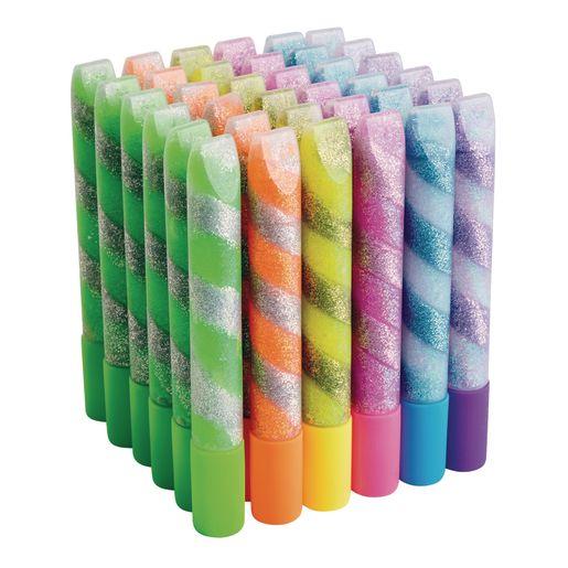 Colorations® Swirl Glitter Goo Pens Set of 36