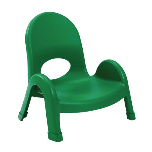 Image of Angeles Value Stack Chairs 5H- Green