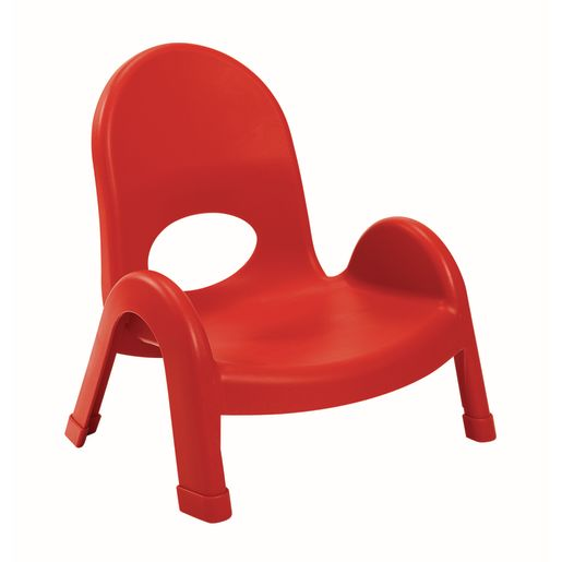 "Angeles® Value Stack™ Chairs 5""H- Red"