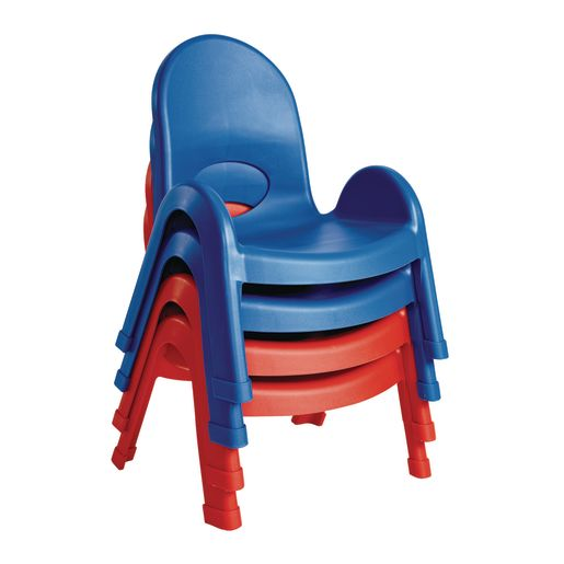 "Angeles® Value Stack™ Chair 7""H - Blue"