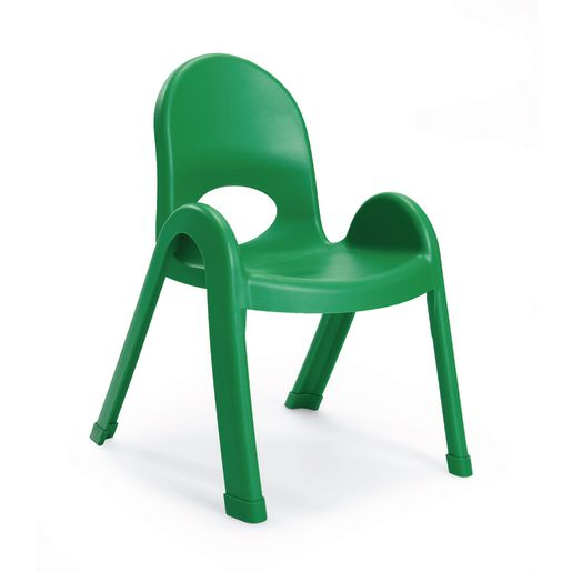 "Angeles® Value Stack™ Chair 9""H Green"