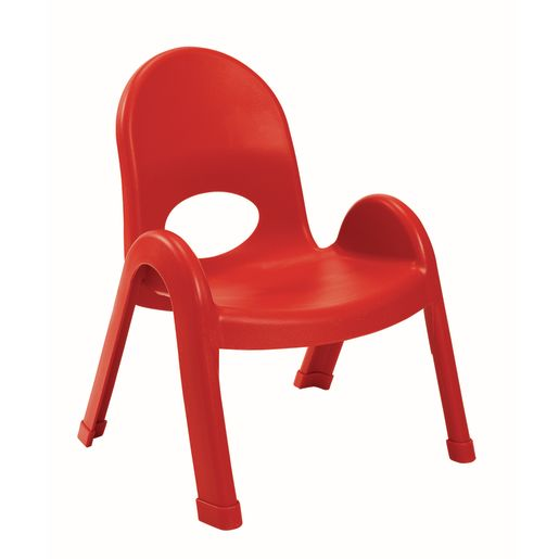 Image of Angeles Value Stack Chair 9H Red