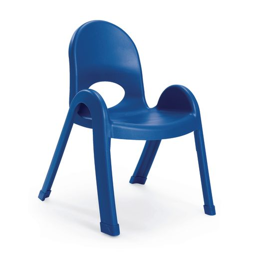 Image of Angeles Value Stack Chair 11H Blue