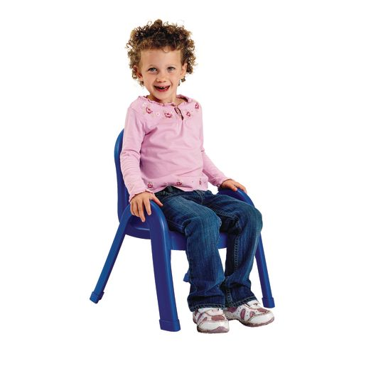 """Angeles® Value Stack™ Chair 11""""H Blue"""