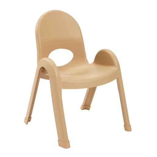 Image of Angeles Value Stack Chair 11H Natural