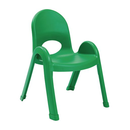 Image of Angeles Value Stack Chair 11H Green