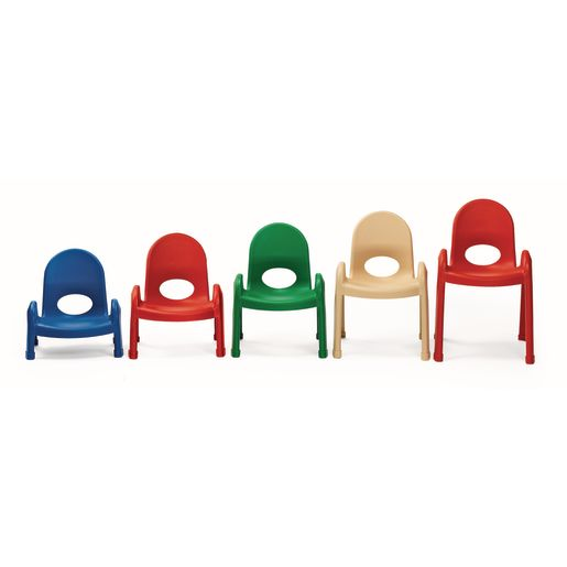 """Angeles® Value Stack™ Chair 11""""H Red"""