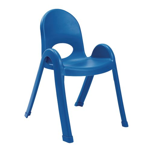 Image of Angeles Value Stack Chair 13H - Blue