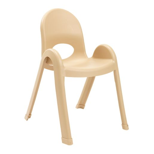 Image of Angeles Value Stack Chair 13H - Natural