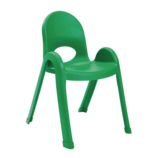 Image of Angeles Value Stack Chair 13H - Green