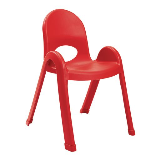 Image of Angeles Value Stack Chair 13H Red