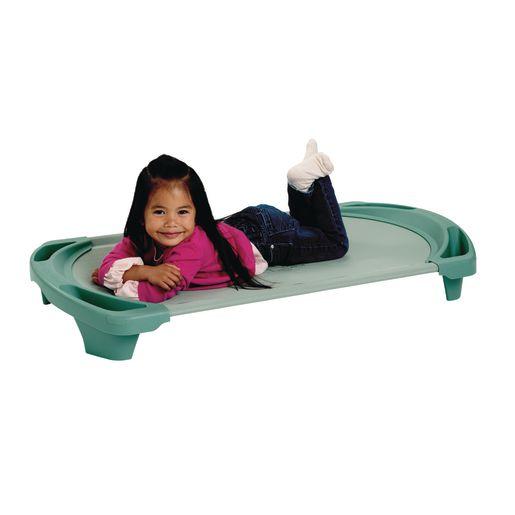 Angeles® SpaceLine® Toddler Cot - Set of 4 Teal Green