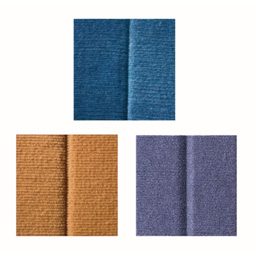 "48""H x 10'L Angeles® BaseLine® Sound Sponge® Quiet Dividers® Blueberry"