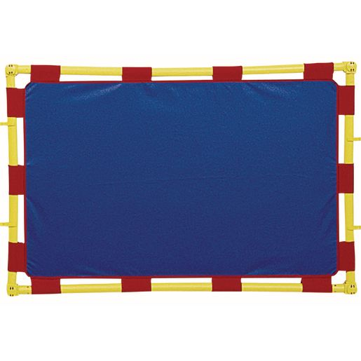 """""""Activity Center PlayPanels® - Rectangle, 31"""""""" x 48"""""""" - Blue with Yellow Piping"""""""