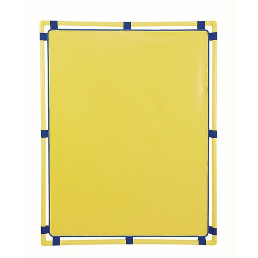 """""""Activity Center PlayPanels® - Rectangle, 31"""""""" x 48"""""""" - Yellow with Yellow Piping"""""""