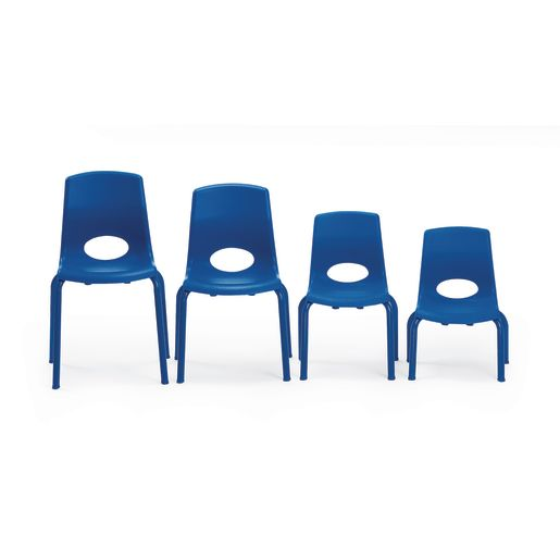 "Angeles® MyPosture™ Chair - 12""H Blue"