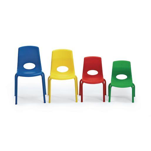 "Angeles® MyPosture™ Chair - 8""H Red"
