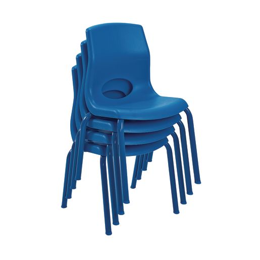 "Angeles® MyPosture™ Chair 8"" H - Set of 4 - Blue"