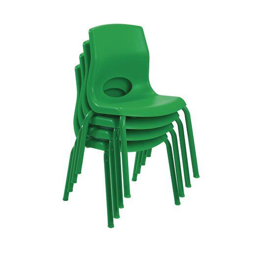"Angeles® MyPosture™ Chair 8"" H - Set of 4 - Green"
