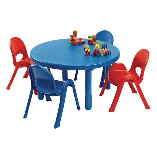 Angeles® MyValue™ Round Table with 4 Chairs Set - Blue