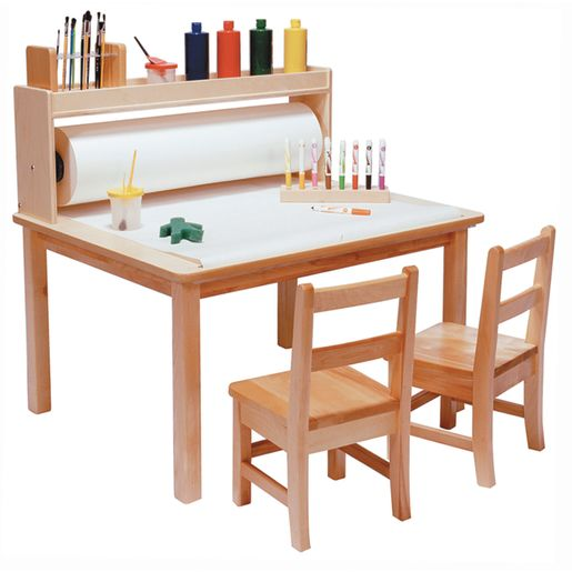 "Arts & Crafts Table for Two - 20""H Legs"