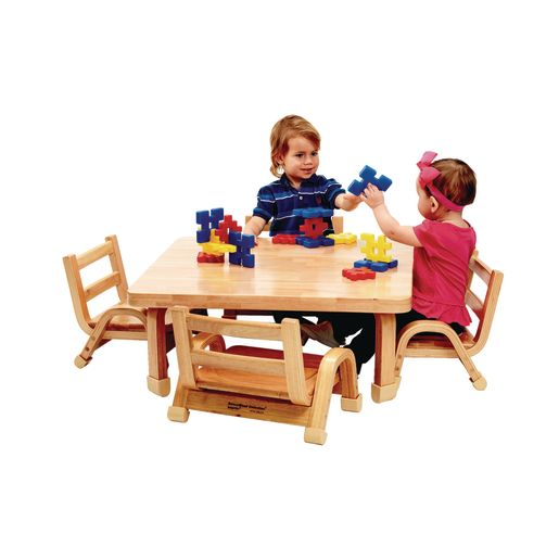 """Angeles® NaturalWood™ Collection Rectangular Table 14""""H"""
