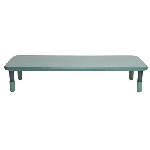 "30"" x 72"" Rectangle BaseLine® Table, 14""H - Teal"