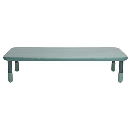 "30"" x 72"" Rectangle BaseLine® Table, 16""H - Teal"