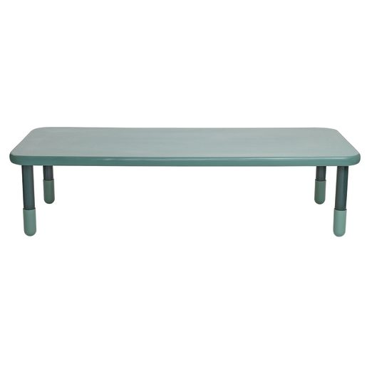 "30"" x 72"" Rectangle BaseLine® Table, 18""H - Teal"