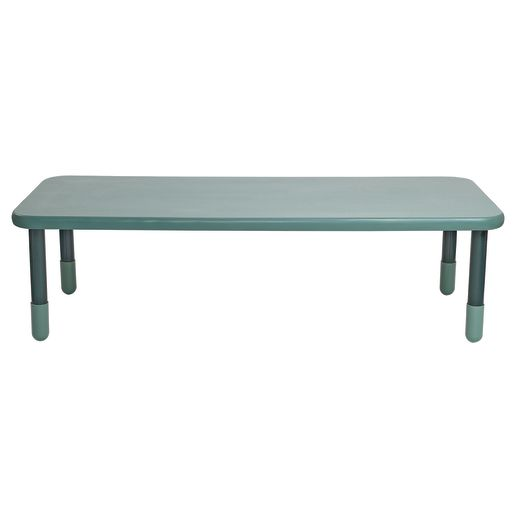 "30"" x 72"" Rectangle BaseLine® Table, 20""H - Teal"
