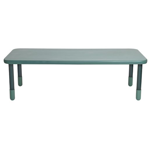"30"" x 72"" Rectangle BaseLine® Table, 22""H - Teal"